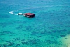 Isla del salto de Lingshui de la isla del límite Fotografía de archivo libre de regalías