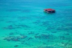 Isla del salto de Lingshui de la isla del límite Fotos de archivo