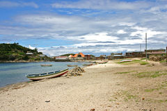 Isla del sol海滩 库存照片