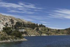 Isla del Sol Île du Sun bolivia Lac Titicaca Sud A Images stock