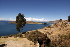 Isla del sol, Боливия Стоковые Фото