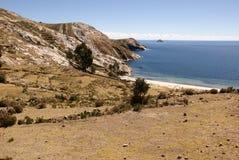 Isla del sol, Боливия Стоковое Изображение RF