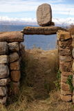 Isla del sol, Боливия Стоковые Изображения