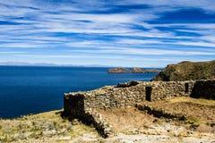 Isla del Sol  Royalty-vrije Stock Afbeeldingen