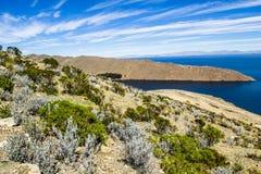 Isla del Sol   Stock Foto's