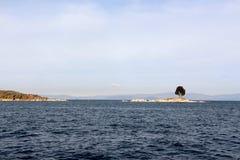 Isla del sol Boliva Στοκ Εικόνες