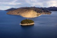 Isla del sol, Bolivië Royalty-vrije Stock Foto