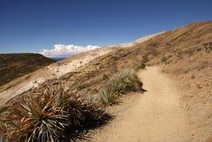 Isla del sol, Bolivië Stock Afbeeldingen