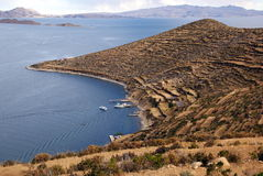 Isla del sol, Bolivia Stock Photography