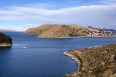 Isla del sol, Bolivia Imagen de archivo libre de regalías