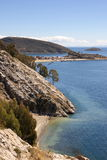 Isla del sol, Bolivia Royalty Free Stock Images