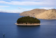 Isla del sol, Bolivia Royalty Free Stock Photography