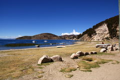 Isla del sol, Bolivia Royalty Free Stock Photos