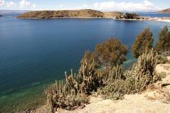 Isla del sol, Bolivia Imágenes de archivo libres de regalías