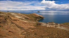 Isla del sol - Bolivia Stock Photo