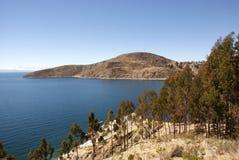 Isla del sol, Bolivie image libre de droits