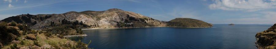 Isla del Sol, caca titi λιμνών, Βολιβία στοκ εικόνες