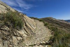 Isla del Sol Eiland van de Zon bolivië Het meer van Titicaca Zuiden A Royalty-vrije Stock Fotografie