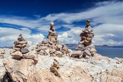 Isla Del Sol. Island of the Sun. Bolivia. Stock Image