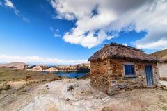 Isla del Sol, lago Titicaca, Bolivia Fotografia Stock Libera da Diritti