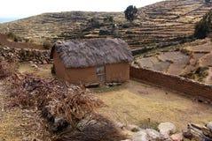 Isla del sol sur le lac Titicaca, Bolivie image libre de droits