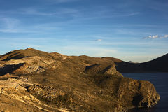 Isla del Sol sur le Lac Titicaca, Bolivie Photos stock