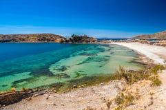 Titicaca湖1 库存图片