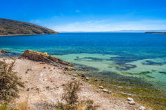 Titicaca lake Stock Image