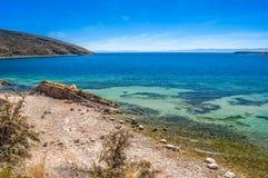 Titicaca lake. Isla del Sol - Titicaca lake, Bolivia Stock Image