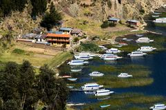 Isla del Sol on the Titicaca lake, Bolivia. Royalty Free Stock Photos