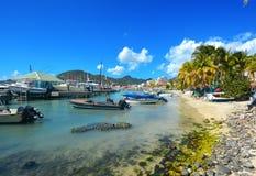 Isla del St Maarten Imagen de archivo libre de regalías