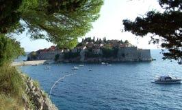 Isla del St Stefan fotografía de archivo libre de regalías