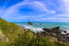 Isla del sur de Nueva Zelandia Foto de archivo libre de regalías