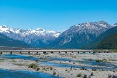 Isla del sur Nueva Zelanda del parque nacional de Fiordland Fotografía de archivo