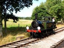 Isla del tren del vapor del Wight Imagenes de archivo