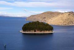 Isla Del Zol, Boliwia Fotografia Royalty Free