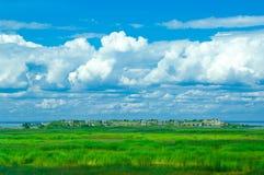 Isla deshabitada hermosa Foto de archivo