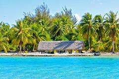 Isla en Bora Bora fotos de archivo libres de regalías