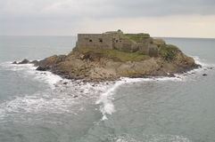 Isla en Bretaña Imágenes de archivo libres de regalías