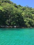 Isla en DOS Reis' - el Brasil del 'Angra fotografía de archivo