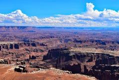 Isla en el cielo Parque nacional de Canyonlands utah Imagen de archivo libre de regalías