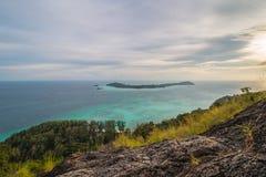 Isla en el mar Foto de archivo