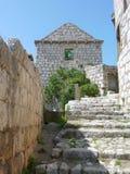 Isla en el mar adriático en Croatia Imágenes de archivo libres de regalías
