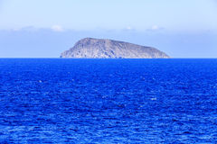 Isla en el mar crete Grecia Imagenes de archivo