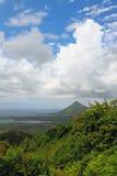 Isla en las zonas tropicales Riviere Noire, Mauricio Imagen de archivo