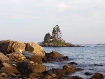 Isla en Maine Fotografía de archivo libre de regalías