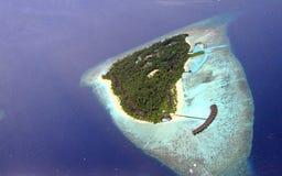 Isla en maldives Fotografía de archivo