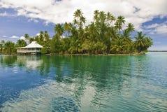 Isla en South Pacific Fotos de archivo libres de regalías