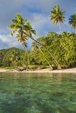 Isla en South Pacific Fotografía de archivo libre de regalías
