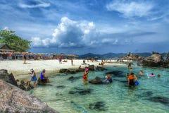 Isla en Tailandia Imágenes de archivo libres de regalías
